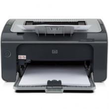 惠普(HP)LaserJet Pro P1106黑白激光打印机 A4打印 USB打印 小型商用打印