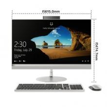 联想(Lenovo)AIO 520 致美一体机台式电脑27英寸QHD(I7-7700T 16G 2T+128SSD GF940MX 2G 三年上门)银